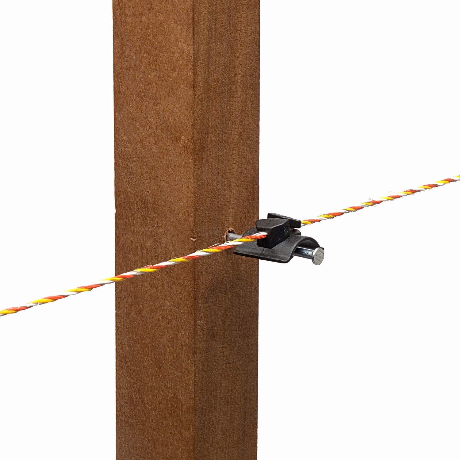 Hotline Electric Fencing Saddle Insulator for Wire or Polywire