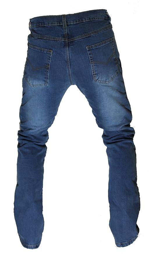 Kt312 - Pantalones vaqueros para moto, color azul Karno ...