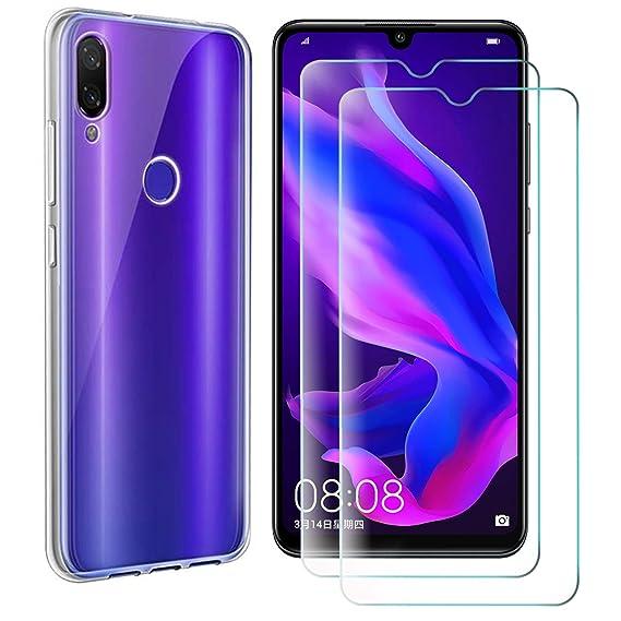 promo code 528b2 d286b Amazon.com: Aidinar Case for Samsung Galaxy A40, Slim Transparent ...