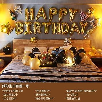L Q H Birthday decoration Decoración de cumpleaños Adulto ...