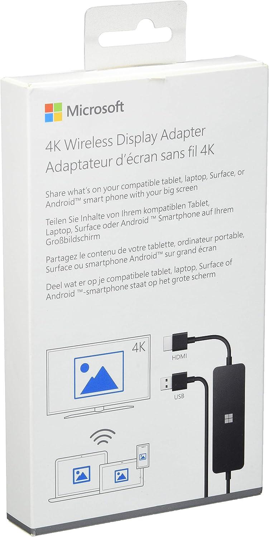 Microsoft 4K Wireless Display Adapter - Adaptador inalámbrico Microsoft 4K - Miracast