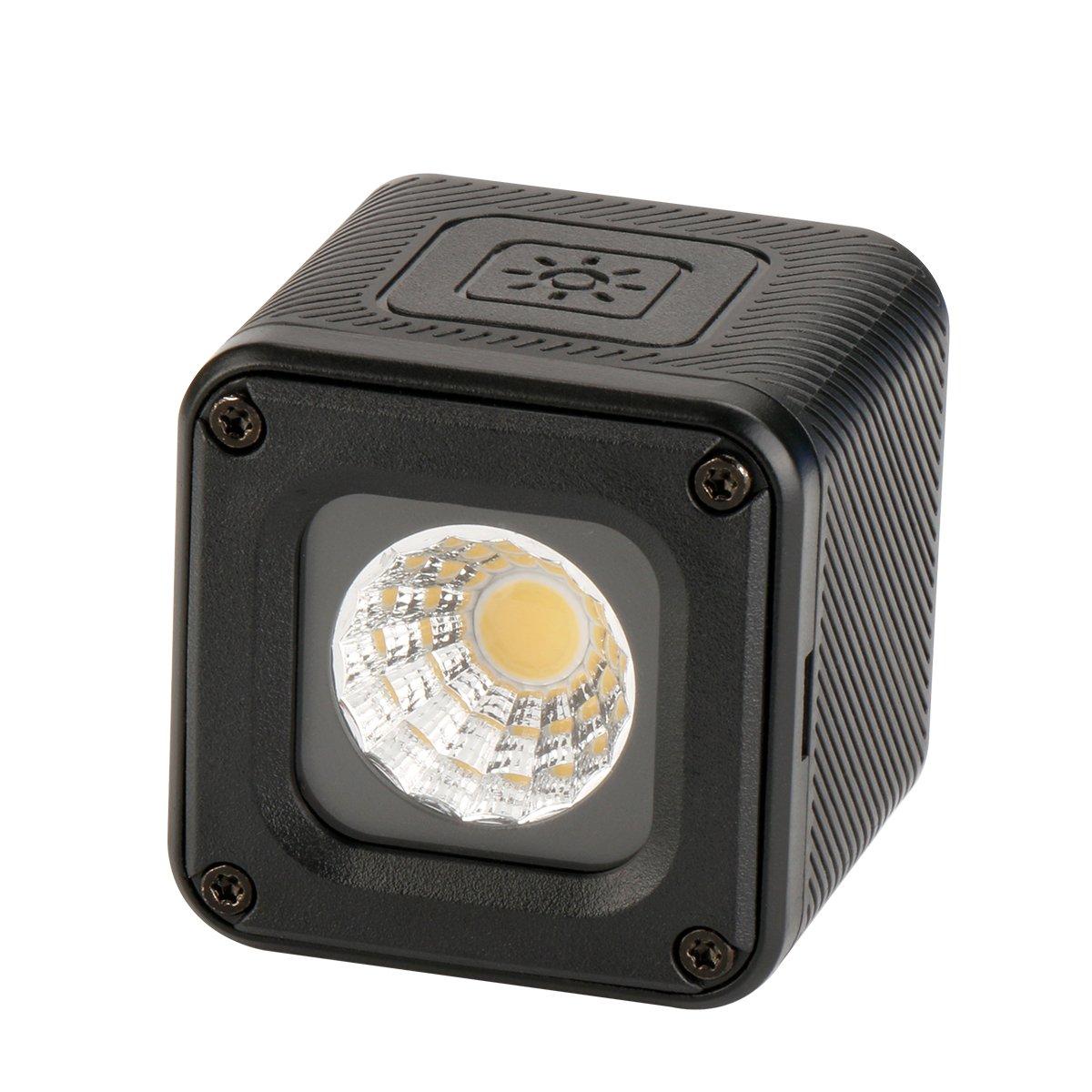 Ulanzi L1 Versatile Mini LED Light Professional Waterproof Adventure LED Lighting for Smartphone Camera Drone Photography, Video, Underwater, Bike, Camping, Drone DJI, Gopro, Canon Nikon Camera etc. by Ulanzi