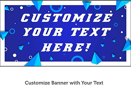 CGSignLab 9x6 Ghost Aged Blue Heavy-Duty Outdoor Vinyl Banner for Sale