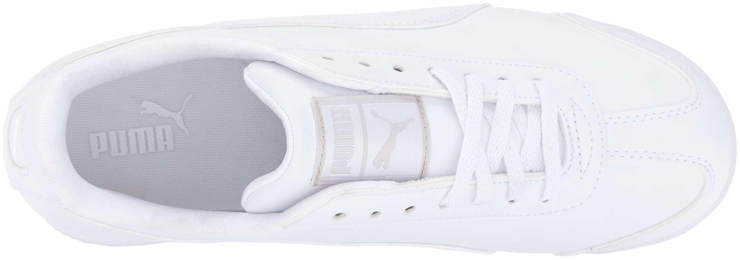 PUMA Roma Basic JR Sneaker , White/Light Gray, 3 M US Little Kid by PUMA (Image #8)