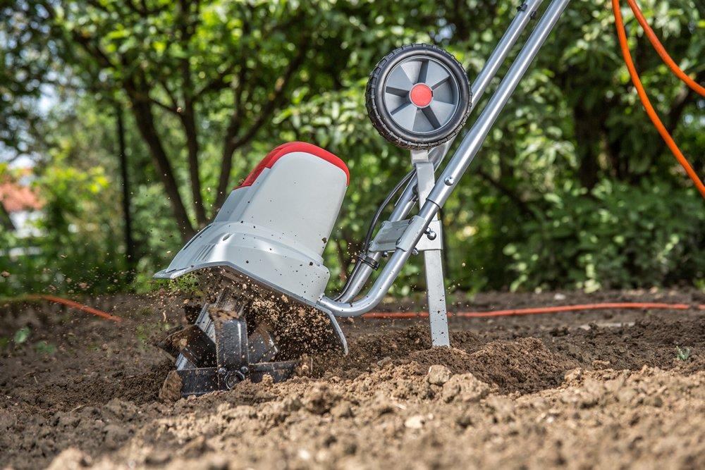 Ikra 70300420 IEM 800 S eléctrico suelo azada Cultivador S, ancho ...