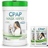 RespLabs Medical CPAP Mask Wipes - 110 Pack Bottle - Unscented