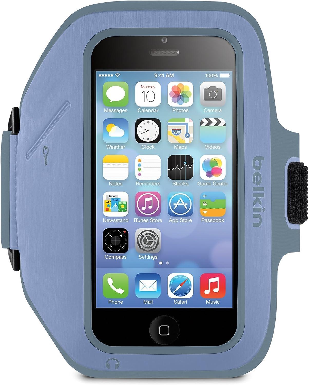 Belkin Sport-Fit Plus Armband for iPhone 5 / 5S / 5c / SE (Pale Blue)