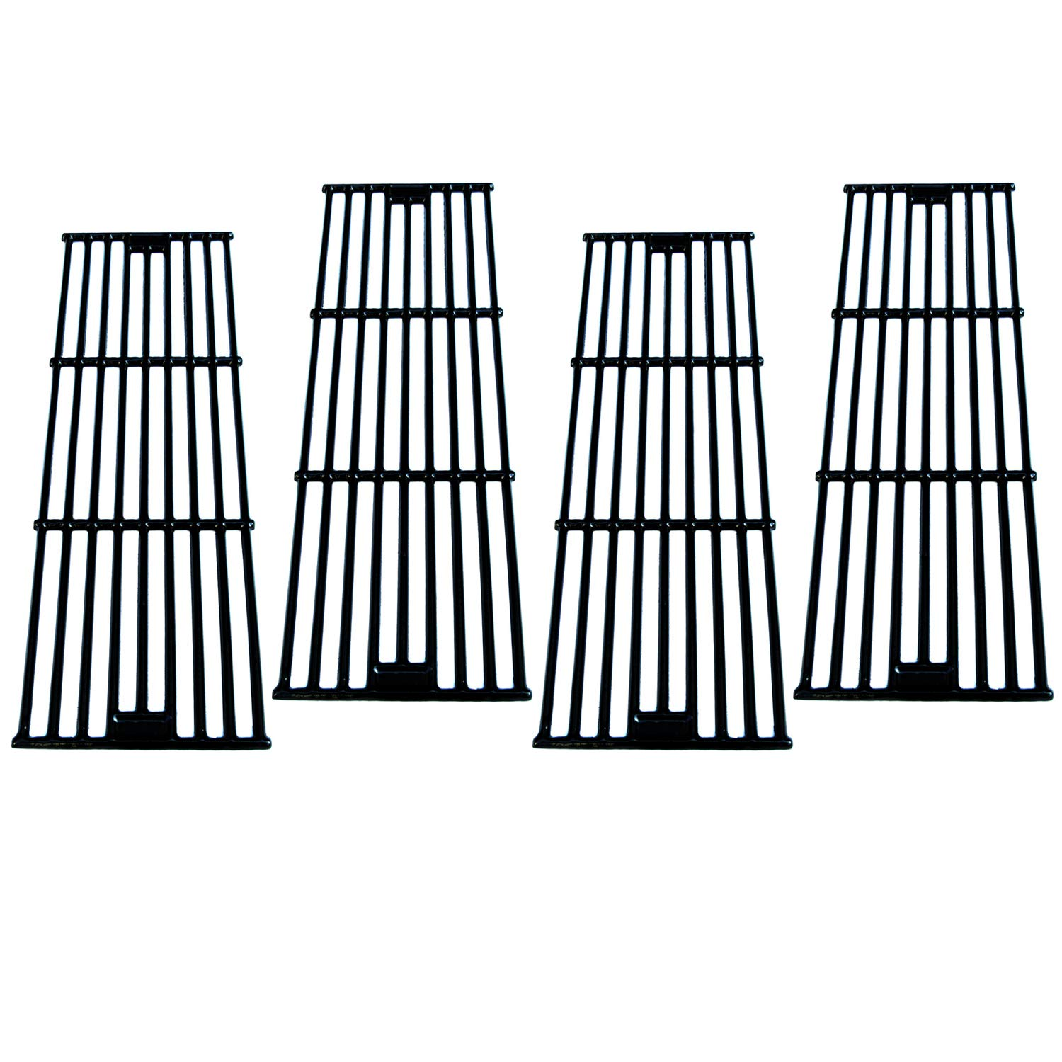 Direct Store Parts DC114 (4-Pack) Polished Porcelain Coated Cast Iron Cooking Grid Replacement Chargriller, King Griller Gas Grill (4) by Direct Store