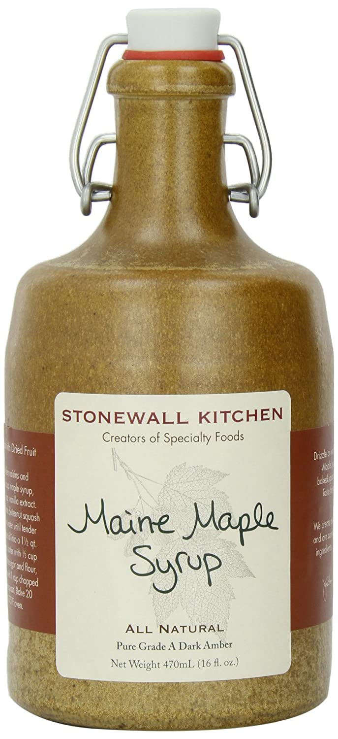 Amazon.com : Stonewall Kitchen Maine Maple Syrup, 16 Ounce ...