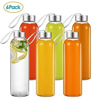 Botellas de vidrio en lima