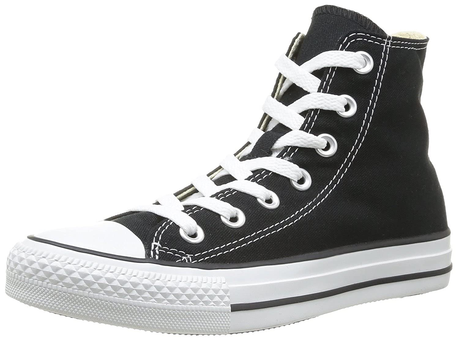 d031aaacac Converse Women's Chuck Taylor High Tops (6 B(M) US, Black) free ...