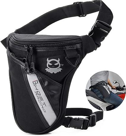 Outdoor Sports Canvas Drop Leg Bags Bag Men Running Belt Bicycle Bike Motorcycle