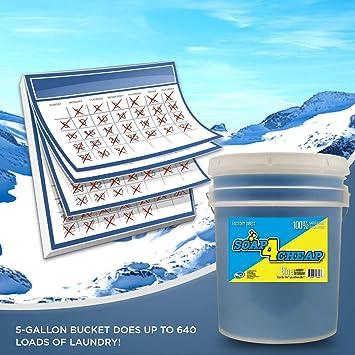 Amazon Com Soap 4 Cheap Liquid Laundry Detergent 640 Loads Per