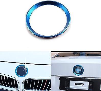 Car Front Rear Logo Surrounding Ring For BMW 82 mm /& 74 mm Emblem
