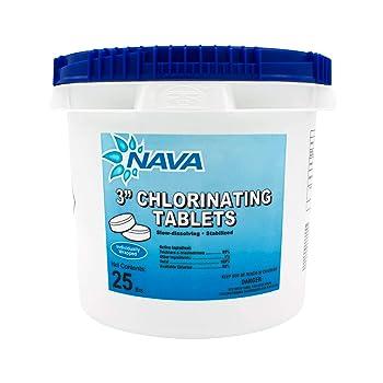 "NAVA 3"" Swimming Pool Chlorine Tablets"