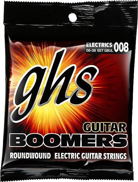 ghs GBUL - Juego de cuerdas para guitarra eléctrica, 8-38 - GHS ...
