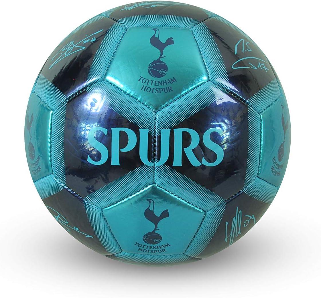 Tottenham Hotspur F.C. Unisex-Youth Signature Football, Blue, Size 5
