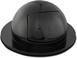 Rubbermaid Commercial Dome Trash Can Lid, Black, FG1855BK