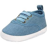 INSTABUYZ Infants Blue Cotton Anti-collision Shoes (3-12 Months)