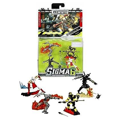 Amazon.com: Hasbro Año 2006 G.I. Joe Sigma 6 Misión Manual ...