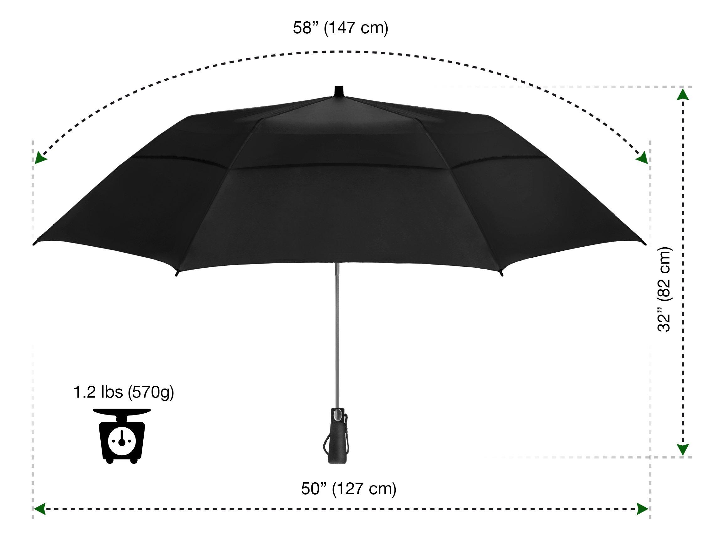 Eez Y 58 Inch Portable Golf Umbrella Large Windproof