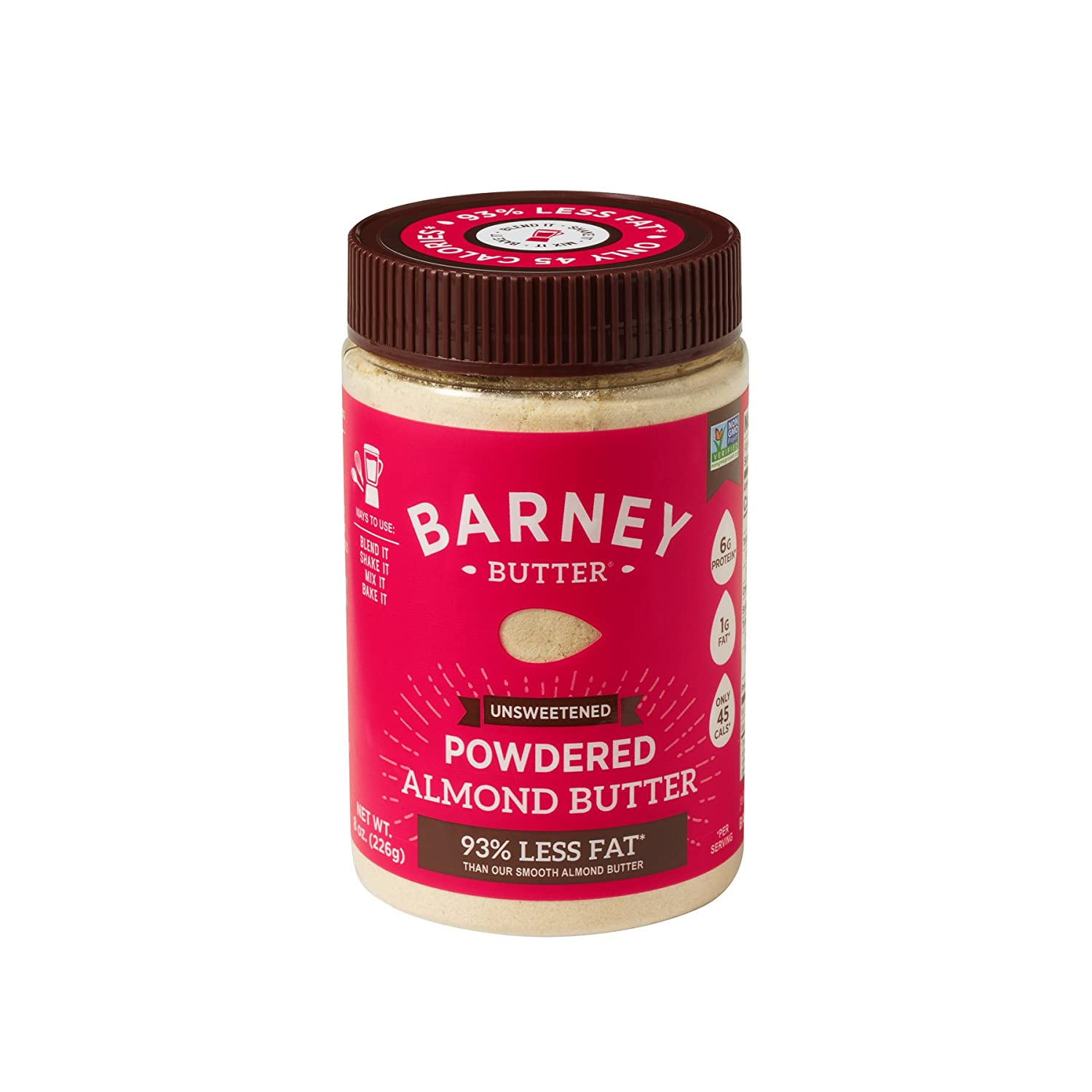 Amazon.com : Barney Butter Powdered Almond Butter, Chocolate, 8 Ounce : Grocery & Gourmet Food