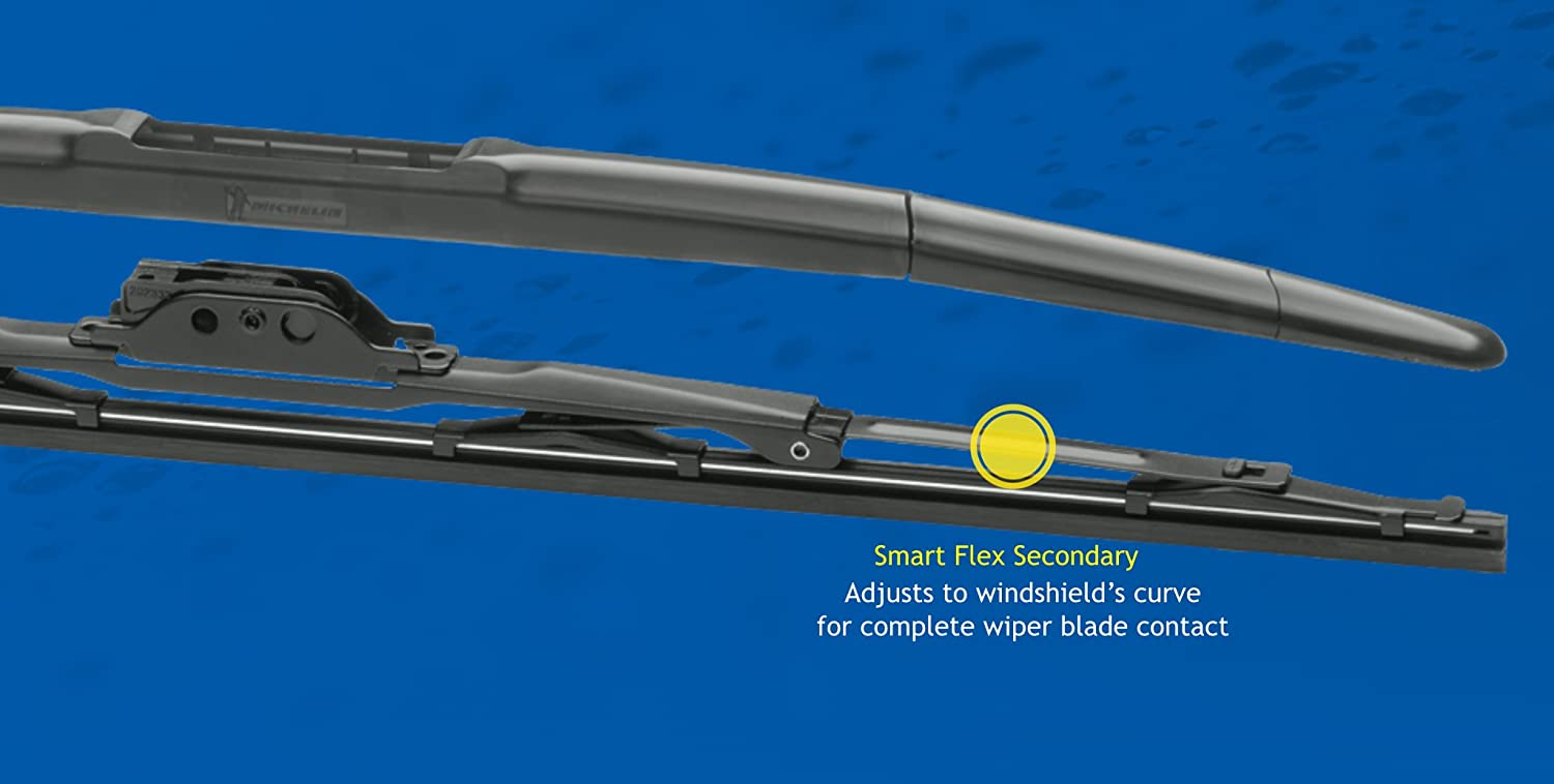 Pack of 1 19 Michelin 8519 Stealth Ultra Windshield Wiper Blade with Smart Technology