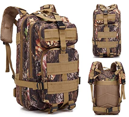 Cranese Oxford 600D encryption 30L Hiking Backpacks, Outdoor Motion Multifunction Camouflage Backpack, 001