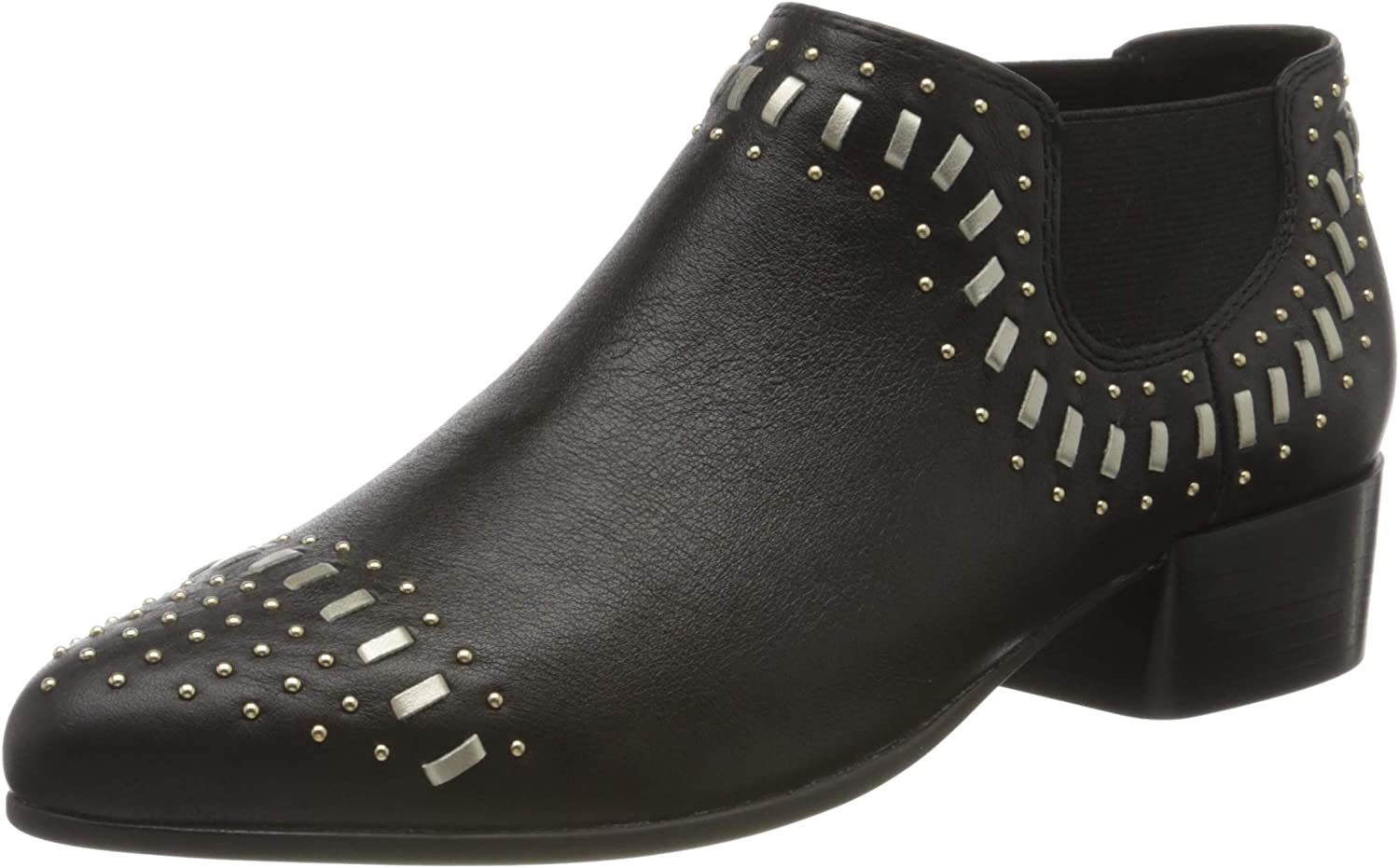 Geox D Peython Low C A, Botas Chelsea Mujer