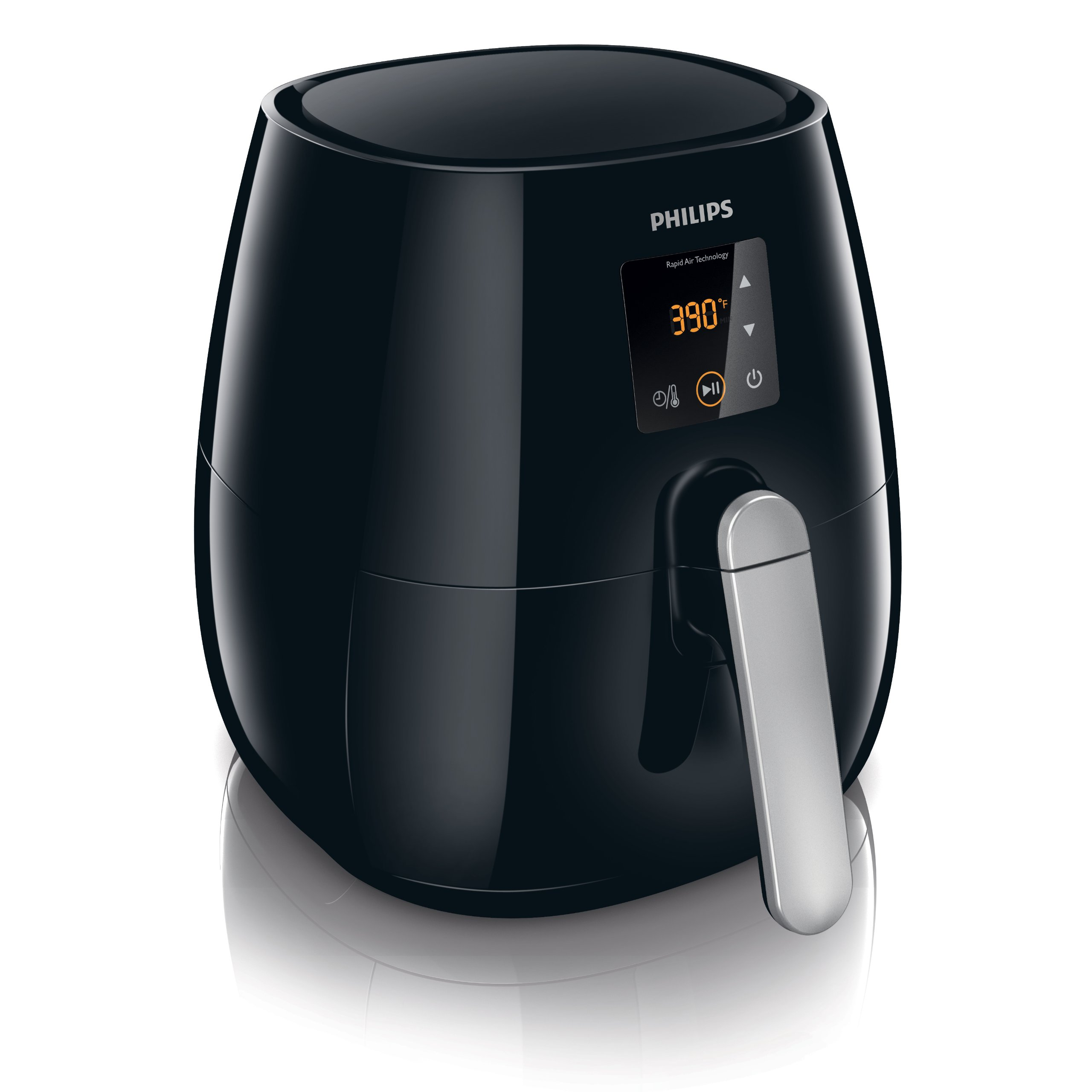 Philips Digital Airfryer, The Original Airfryer, Fry Healthy with 75% Less Fat, Black HD9230/26 by PHILIPS