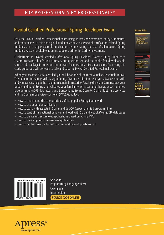 Buy pivotal certified core spring developer exam book online at buy pivotal certified core spring developer exam book online at low prices in india pivotal certified core spring developer exam reviews ratings xflitez Images