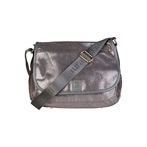 Designer Genuine Biagiotti Body Grey Cross Laura Women Bag pcyASpqT