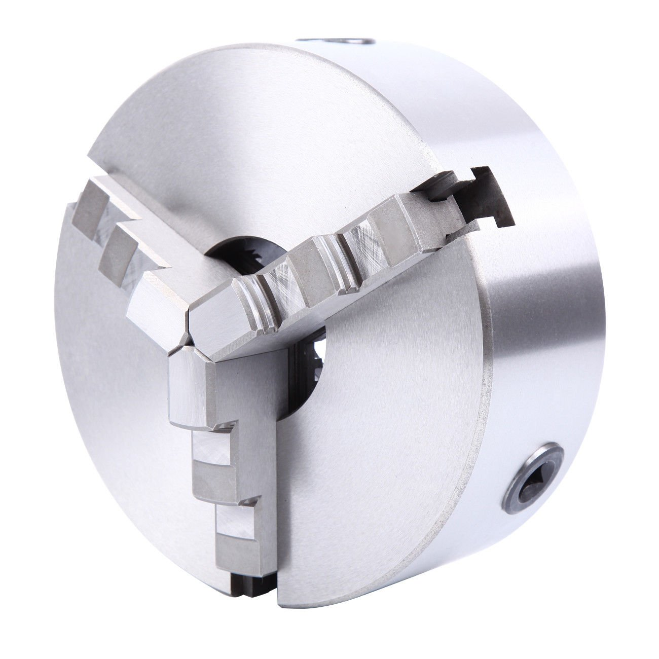 Yonntech 8 3-Jaw Precision Self-Centering Lathe Chuck 8 Inch 3 Jaw High-accuracy Lathe Fixture Self Centering Chuck for Lathe with 2 sets Jaw