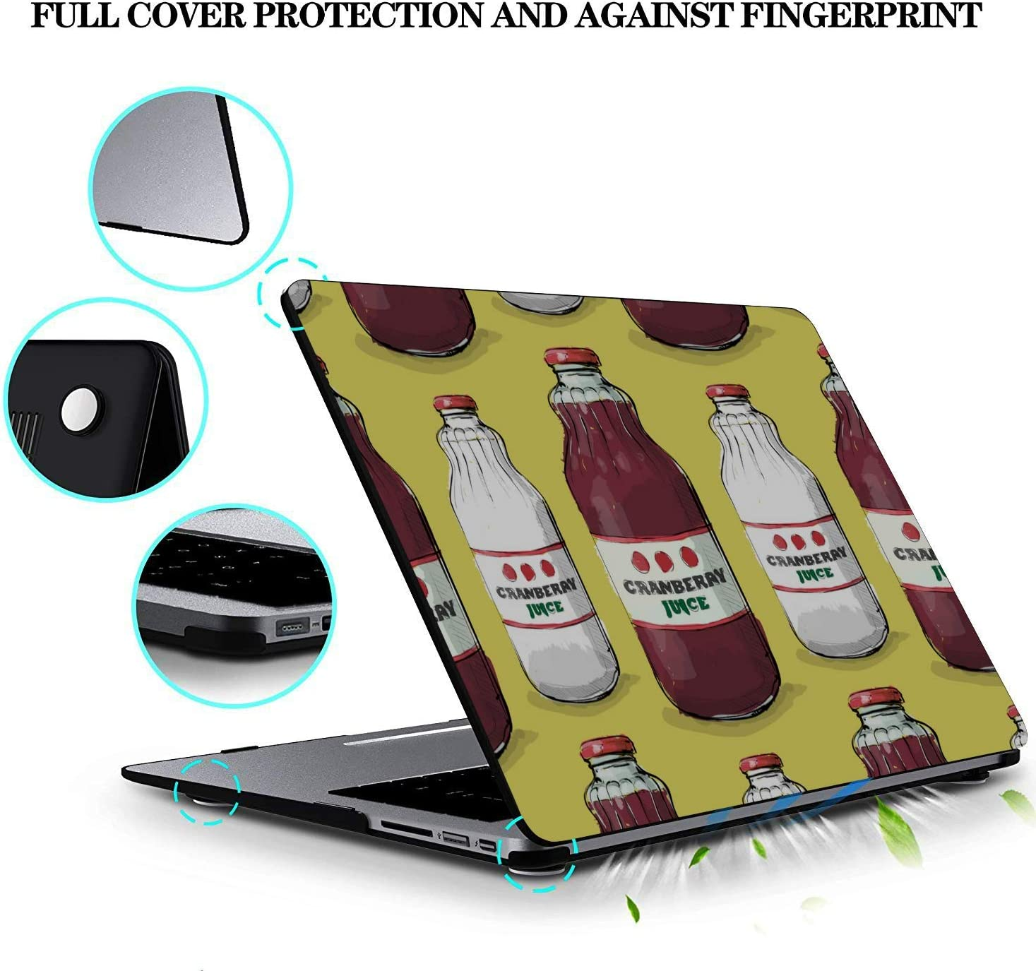 MacBook Air Covers Summer Sour Sweet Drink Juice Box Plastic Hard Shell Compatible Mac Air 11 Pro 13 15 Mackbook Case Protection for MacBook 2016-2019 Version