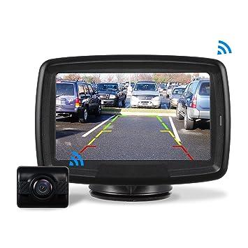 AUTO-VOX Caméra de Recul Sans Fil - Caméra de Voiture Numérique Caméra  Etanche IP68 4fda777e0570