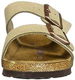 Birkenstock Unisex Arizona Taupe Suede Soft Foot