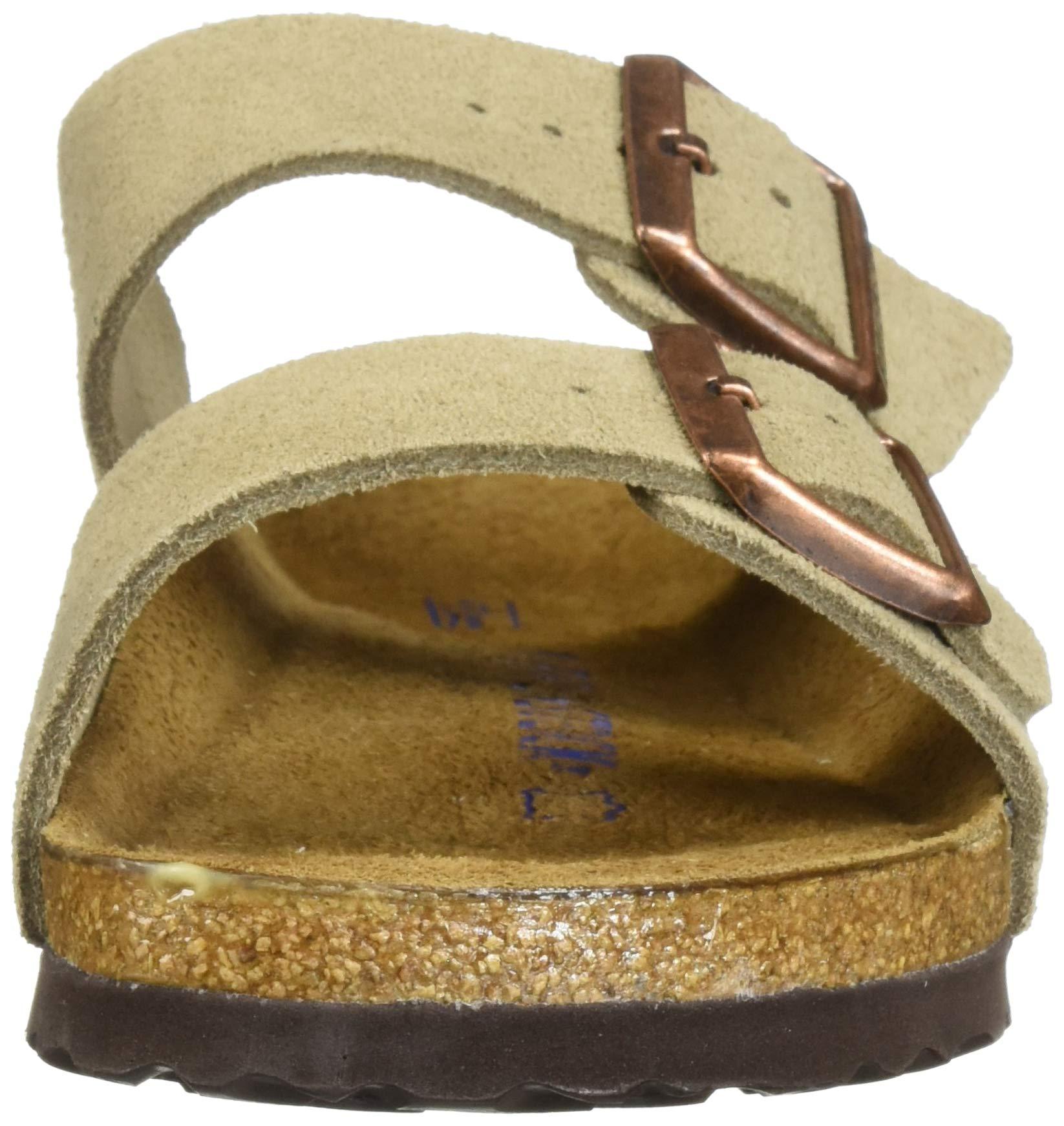 Birkenstock Arizona Soft Footbed Taupe Suede Regular Width - EU Size 35 / Women's US Sizes 4-4.5 by Birkenstock (Image #4)