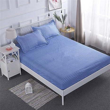 LYJZH Protector de colchón/Cubre colchón Acolchado ...