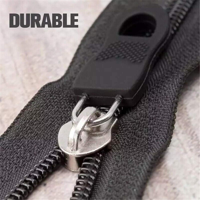U Shape Zipper Pull for Luggage Backpack Cloths Zipper Pull Tab Replacement Zip Clip Buckle 20 Pcs Universal Detachable Zipper Puller Set Wide Waistbands Elastic Waist