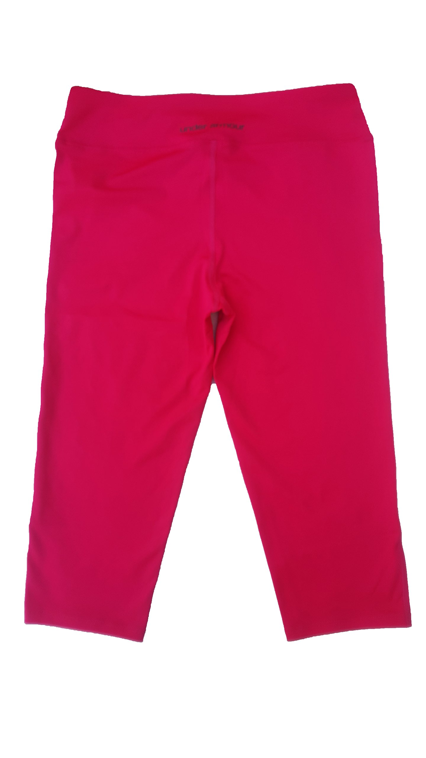 Under Armour Girls Capri Leggings (Large, Red) by Under Armour (Image #1)