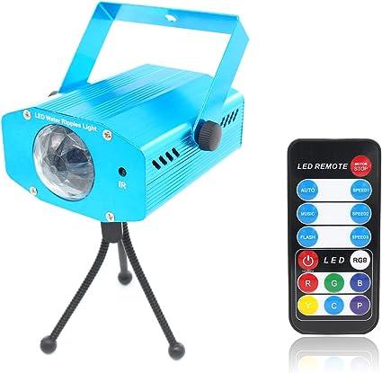 Xcellent Global Proyector LED de 7 Colores de Ondulaciones de Agua ...