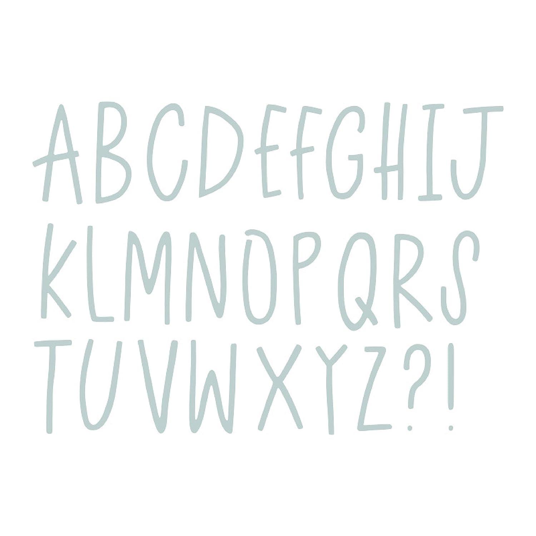 Sizzix Thinlits Troqueles 28PK Letras delicadas