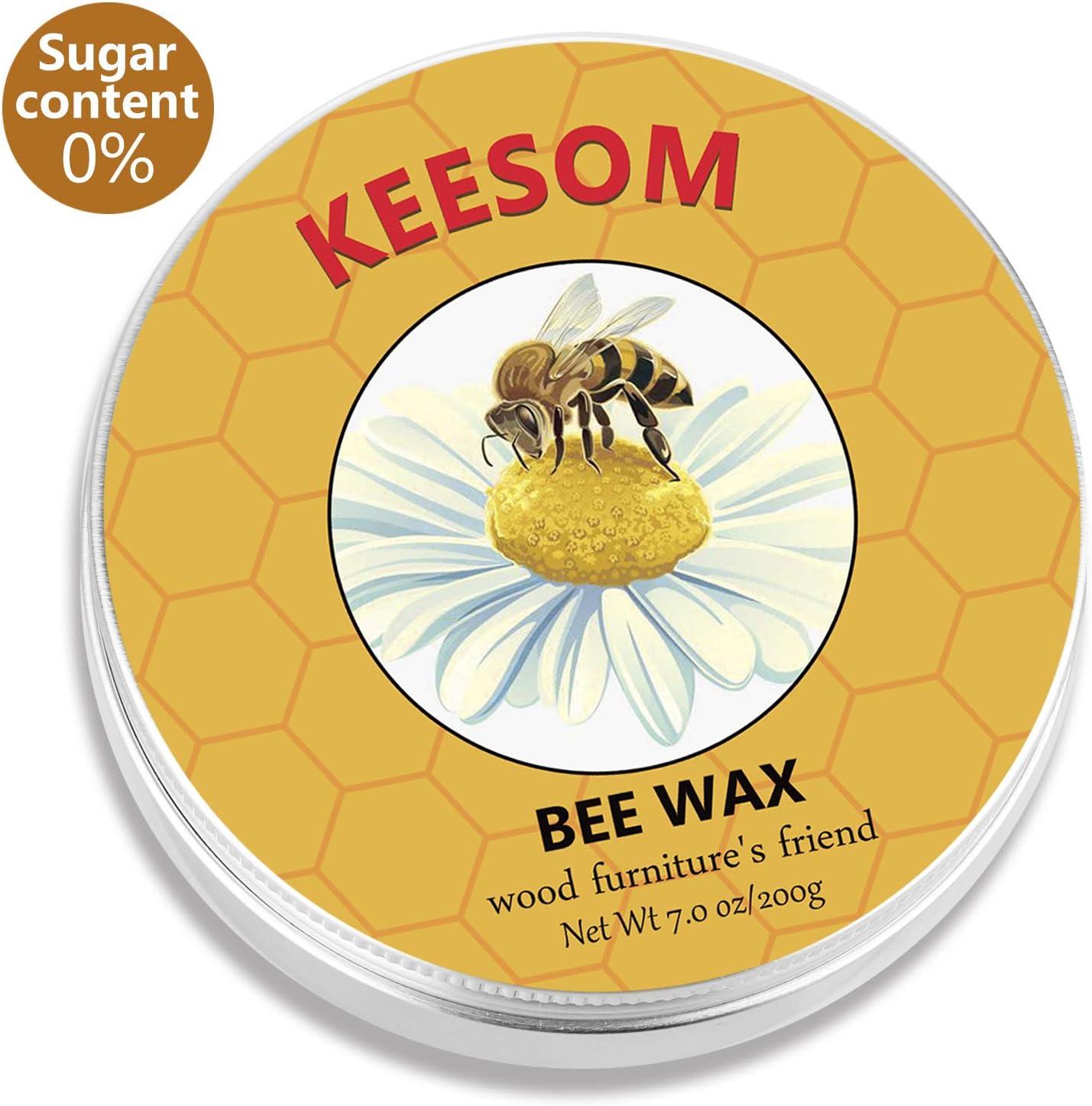 Beeswax Furniture Polish,High Beeswax Content,Sugar Free,Wood Seasoning Beeswax