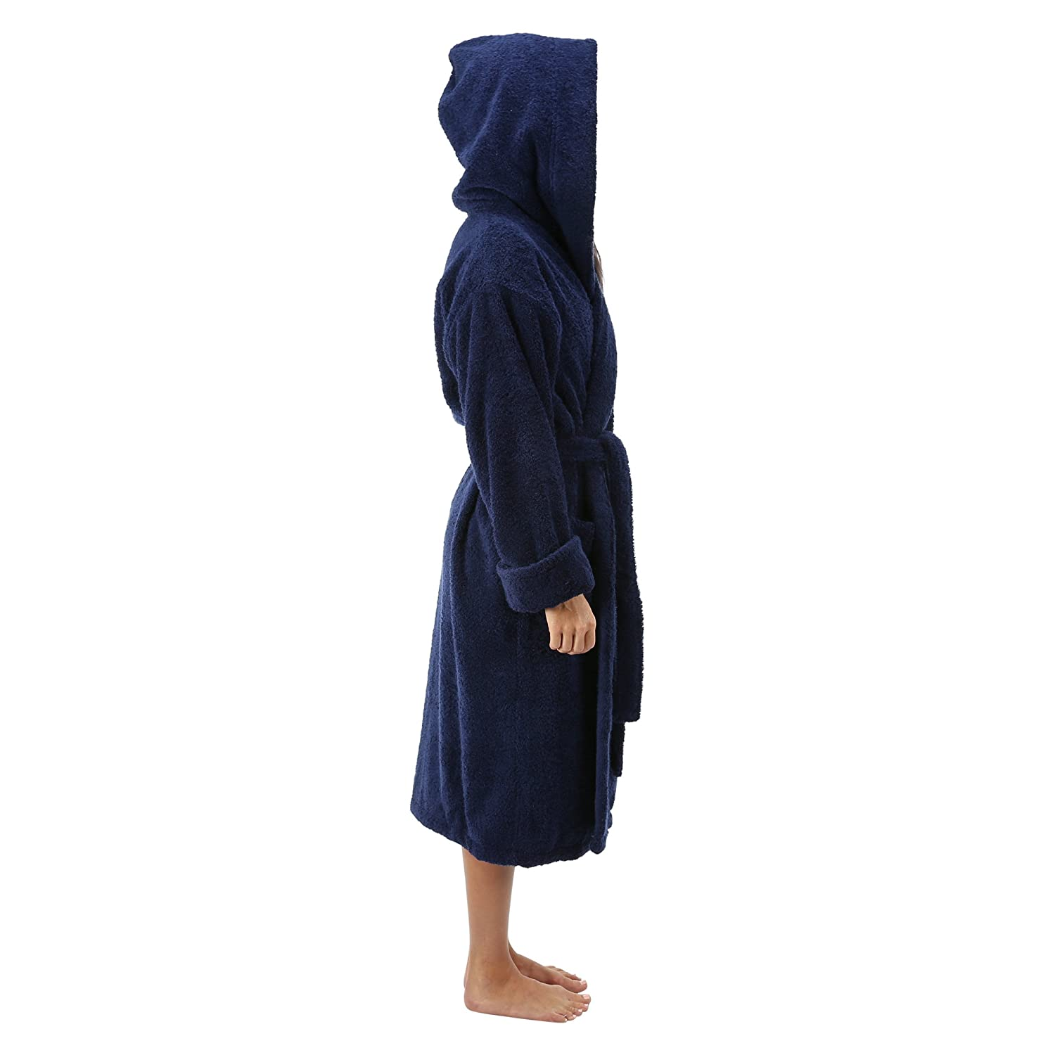 1f33eba381a23 Comfy Robes Women s Deluxe 20 oz. Turkish Cotton Hooded Bathrobe XPR300  larger image
