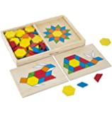 Pattern Blocks and Boards Set [importato dalla Germania]