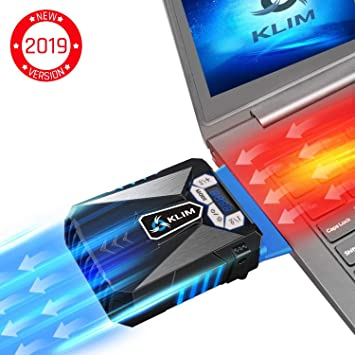 66fe197323 KLIM Cool Refroidisseur - PC Ventilo Portable Gamer - Ventilateur Haute  Performance pour Refroidissement Rapide -