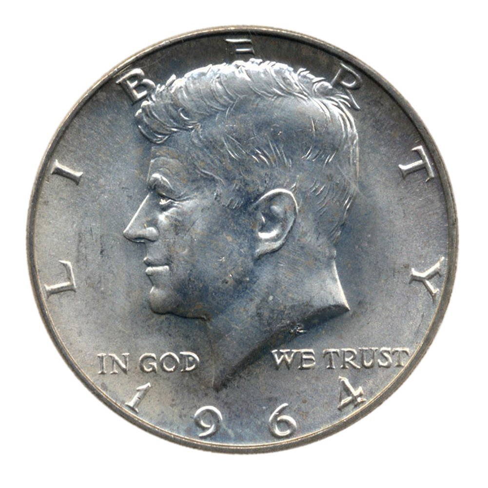 Circulated 1964 Kennedy Half Dollar 90/% Silver Coin Choose How Many!