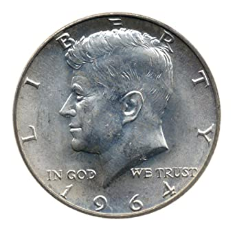 90 Silver John F Kennedy Half Dollar Jfk Circulated Better Than