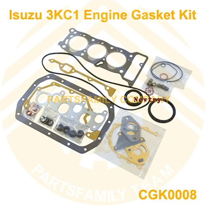 amazon com: newtry engine rebuilt kit for isuzu 3kc1 980cc mini-excavator  and skid steer loader: kitchen & dining
