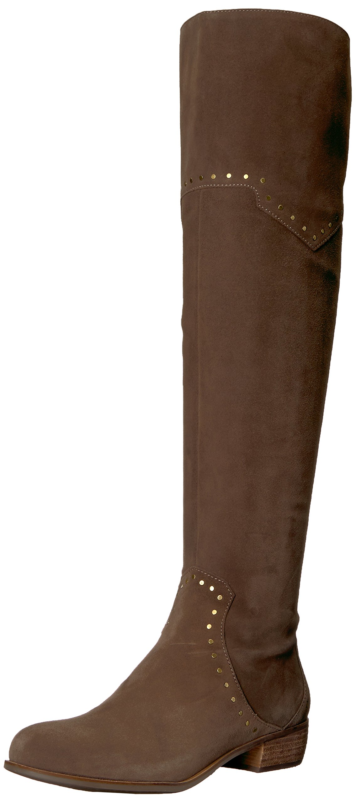 Aerosoles Women's West Side Over The Knee Boot, Taupe Suede, 8.5 M US